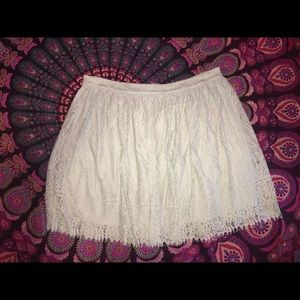 MINT GREEN ONLY XL Xhilaration lace skirt